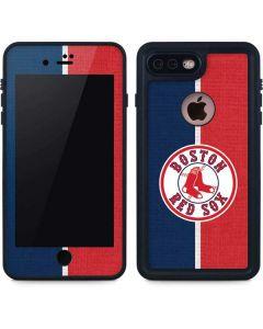 Boston Red Sox Split iPhone 8 Plus Waterproof Case