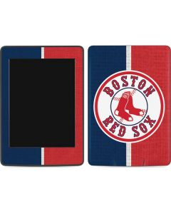 Boston Red Sox Split Amazon Kindle Skin