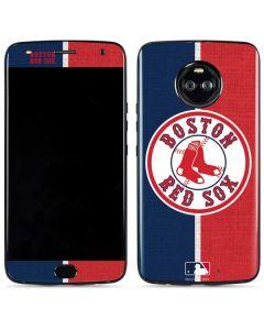 Boston Red Sox Split Moto X4 Skin