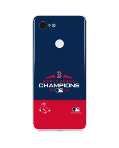 Boston Red Sox World Series Champions 2018 Google Pixel 3 Skin