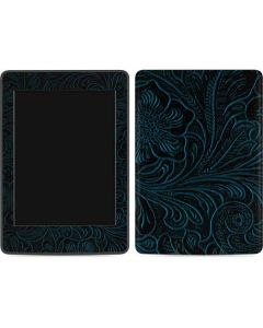 Botanical Flourish Blue Amazon Kindle Skin