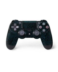 Botanical Flourish Blue PS4 Pro/Slim Controller Skin