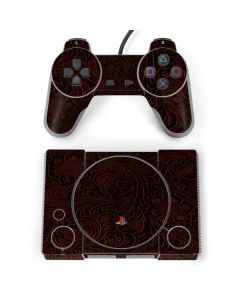 Botanical Flourish Sepia PlayStation Classic Bundle Skin