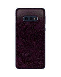 Botanical Flourish Violet Galaxy S10e Skin