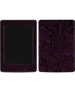 Botanical Flourish Violet Amazon Kindle Skin