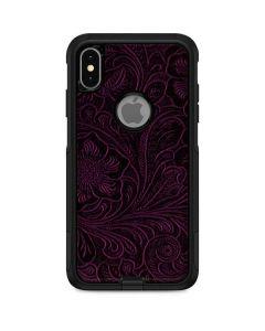 Botanical Flourish Violet Otterbox Commuter iPhone Skin