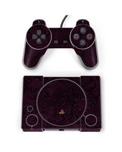 Botanical Flourish Violet PlayStation Classic Bundle Skin