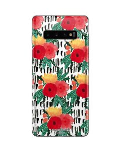 Bouquets Print 3 Galaxy S10 Plus Skin