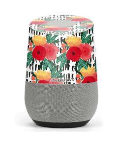 Bouquets Print 3 Google Home Skin