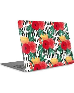 Bouquets Print 3 Apple MacBook Air Skin