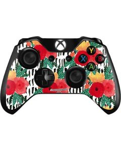 Bouquets Print 3 Xbox One Controller Skin