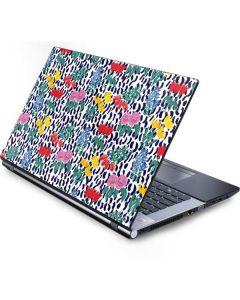 Bouquets Print Generic Laptop Skin
