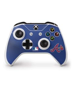 Braves Embroidery Xbox One S Controller Skin