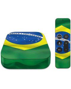 Brazil Flag  Apple TV Skin