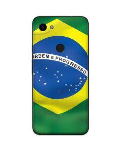 Brazil Flag Google Pixel 3a Skin