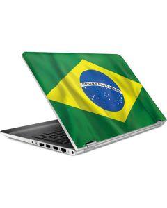 Brazil Flag  HP Pavilion Skin