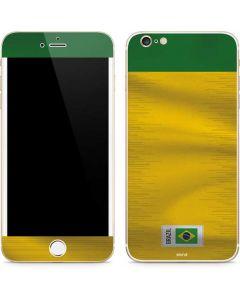 Brazil Soccer Flag iPhone 6/6s Plus Skin