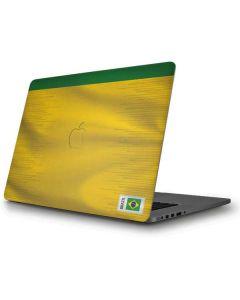 Brazil Soccer Flag Apple MacBook Pro Skin