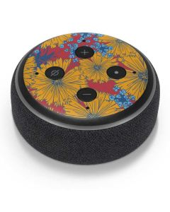 Bright Fall Flowers Amazon Echo Dot Skin