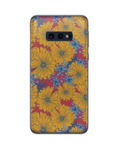 Bright Fall Flowers Galaxy S10e Skin