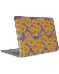 Bright Fall Flowers Apple MacBook Air Skin