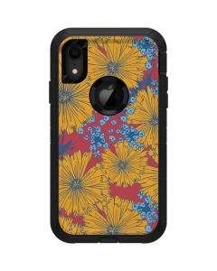Bright Fall Flowers Otterbox Defender iPhone Skin