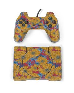 Bright Fall Flowers PlayStation Classic Bundle Skin