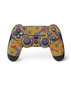 Bright Fall Flowers PS4 Pro/Slim Controller Skin