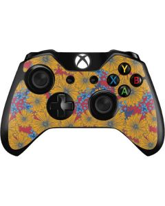 Bright Fall Flowers Xbox One Controller Skin