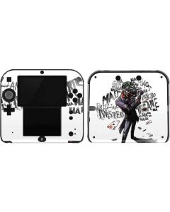 Brilliantly Twisted - The Joker 2DS Skin