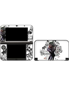 Brilliantly Twisted - The Joker 3DS XL 2015 Skin