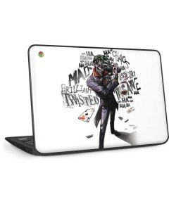 Brilliantly Twisted - The Joker HP Chromebook Skin