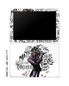 Brilliantly Twisted - The Joker Galaxy Book 12in Skin