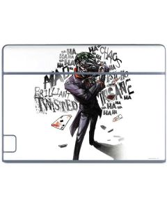 Brilliantly Twisted - The Joker Galaxy Book Keyboard Folio 10.6in Skin