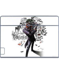 Brilliantly Twisted - The Joker Galaxy Book Keyboard Folio 12in Skin