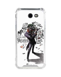 Brilliantly Twisted - The Joker Galaxy J3 (2017) Clear Case