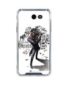 Brilliantly Twisted - The Joker Galaxy J7 (2017) Clear Case