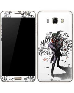 Brilliantly Twisted - The Joker Galaxy J7 Skin