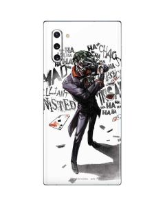 Brilliantly Twisted - The Joker Galaxy Note 10 Skin