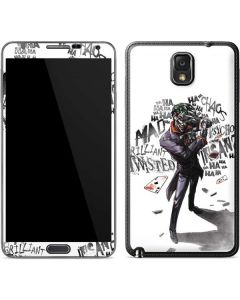 Brilliantly Twisted - The Joker Galaxy Note 3 Skin