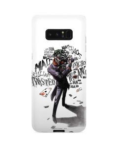 Brilliantly Twisted - The Joker Galaxy Note 8 Lite Case