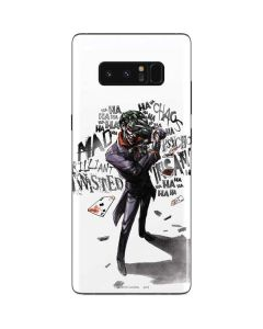 Brilliantly Twisted - The Joker Galaxy Note 8 Skin