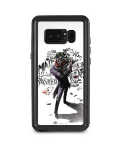 Brilliantly Twisted - The Joker Galaxy Note 8 Waterproof Case