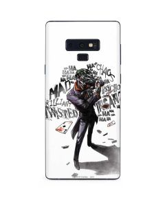 Brilliantly Twisted - The Joker Galaxy Note 9 Skin