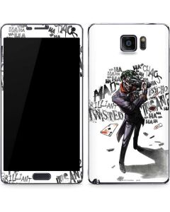 Brilliantly Twisted - The Joker Galaxy Note5 Skin