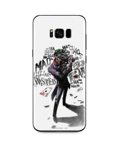 Brilliantly Twisted - The Joker Galaxy S8 Skin