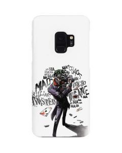 Brilliantly Twisted - The Joker Galaxy S9 Lite Case