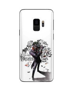 Brilliantly Twisted - The Joker Galaxy S9 Skin