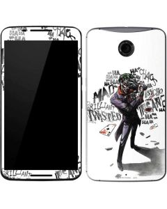 Brilliantly Twisted - The Joker Google Nexus 6 Skin