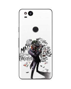 Brilliantly Twisted - The Joker Google Pixel 2 Skin